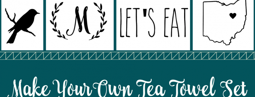 7:00pm-8:00pm: Make Your Own Tea Towel Set – The Makery